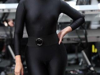 Voyeur Private : Beyonce demonstrates tight spandex cameltoe!