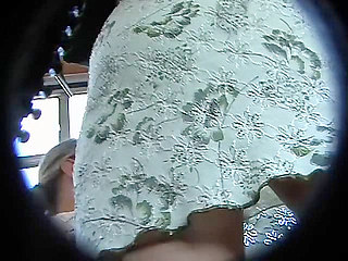 Voyeur Private : Lovely upskirt panty!