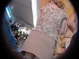 Voyeur Private : Neglect sex kitten upskirt outdoors!