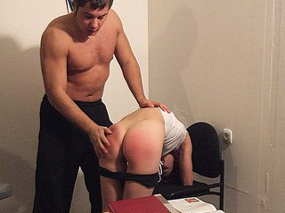 006nrh Wife Bare Bottom Spank   Booties redden from spanking