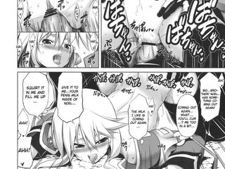Hentai Manga : Girl masturbates dreaming of real penis!