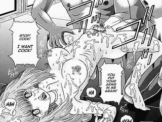 Hentai Manga : sex and violence for little dirty whore!
