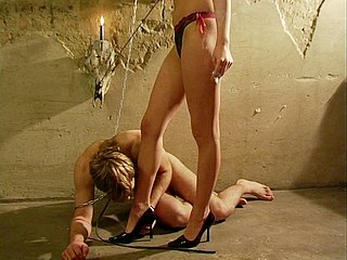 011erj Lock, Stock Two Smoking Barrels Sex Scene   Mistress in heels worshiped
