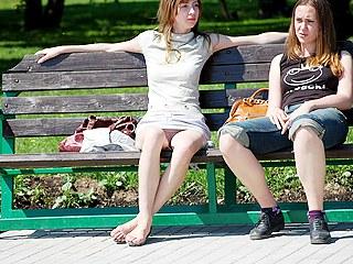 Beautiful girls in spy upskirt pics : Sweltering girls in spy upskirt thumbnails